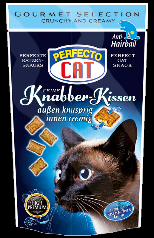 Perfecto Cat skanėstas katėms  Anti-Hairball 50g