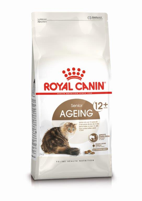Kačių maistas Royal Canin Ageing +12 - 2kg.