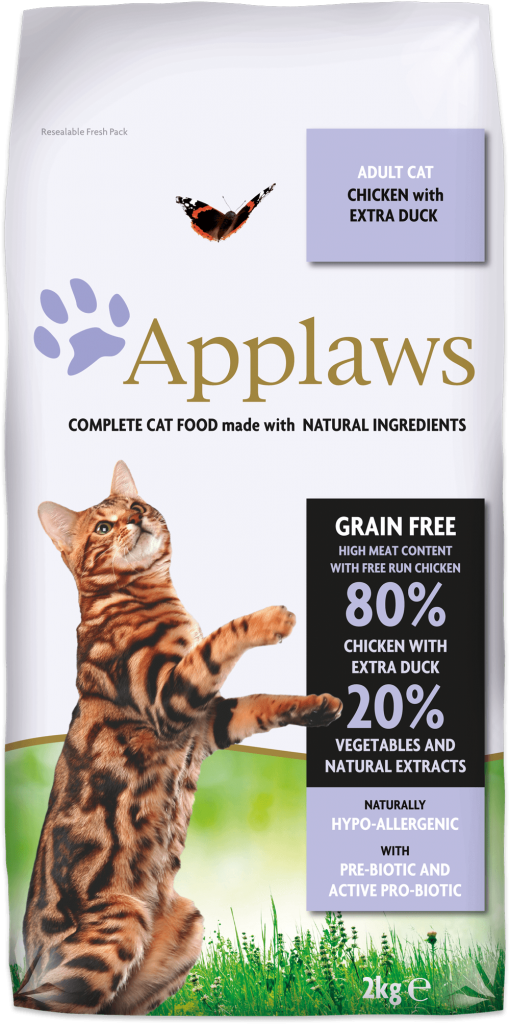 APPLAWS Cat Adult Chicken with Duck 2kg