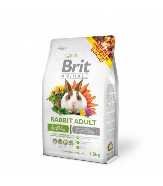 Brit Animals maistas suaugusiems triušiams 3 kg.