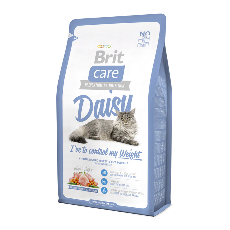 Kačių maistas Brit Care Cat Daisy Weight 2kg.
