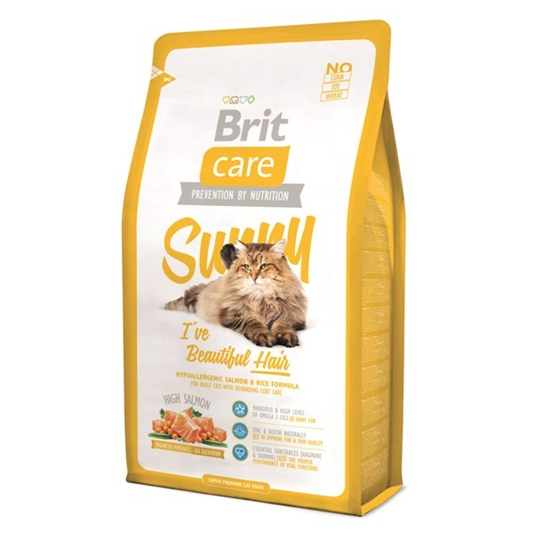 Kačių maistas Brit Care Cat Sunny 2kg