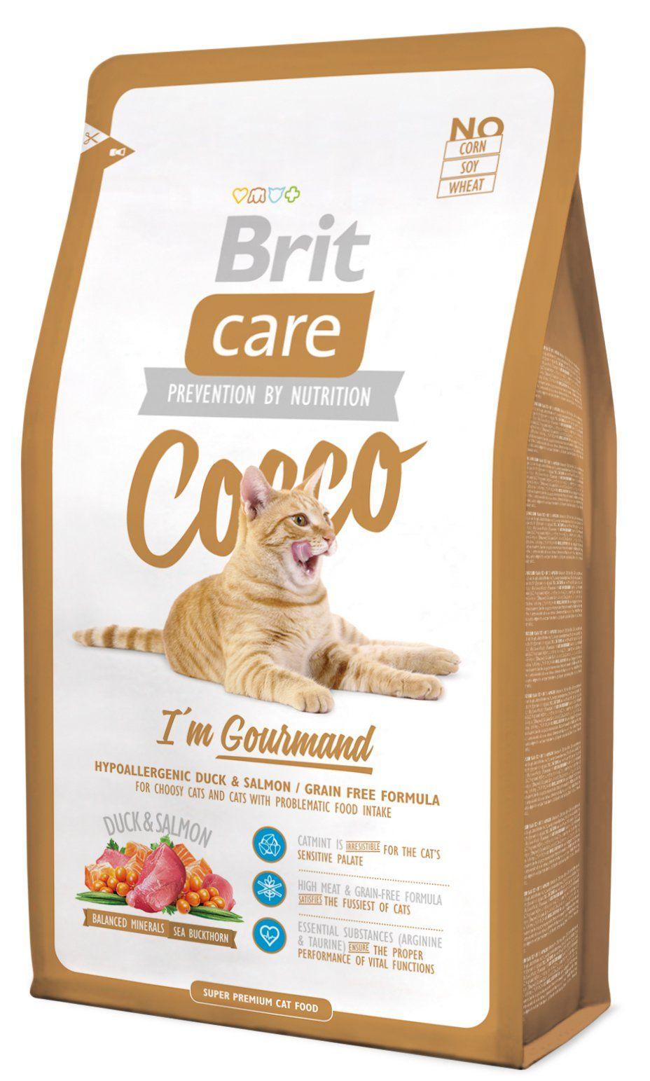 Kačių maistas Brit Care Cat Cocco Gourmand 2kg.