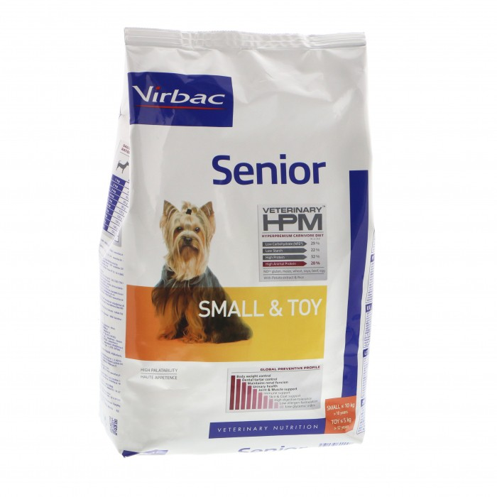 Virbac HPM  Senior SMALL & TOY dogs 7 kg