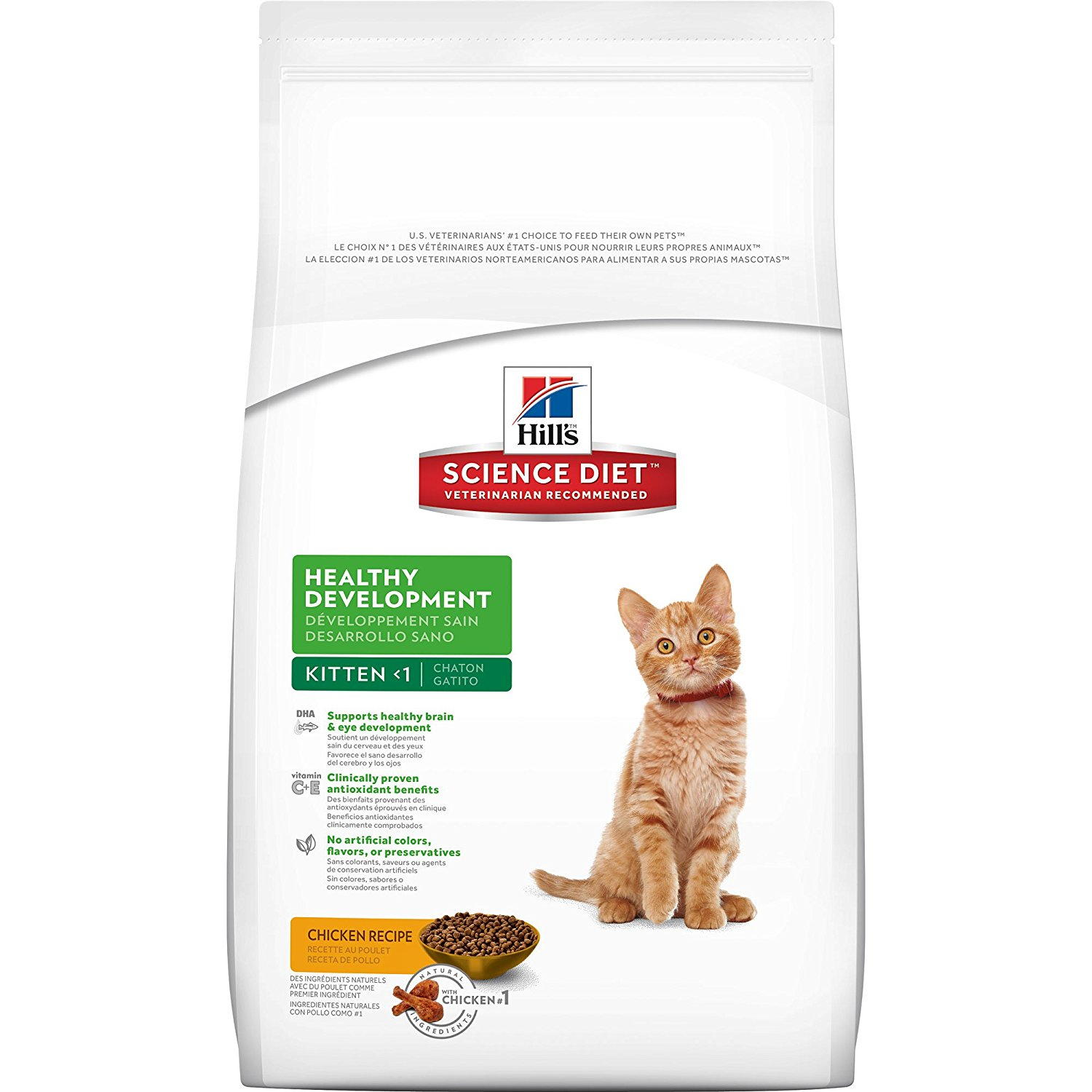 Hills  Feline Kitten Chicken 2kg.