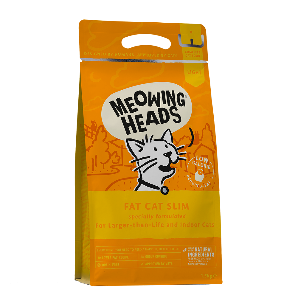 Meowing Heads Fat Cat Slim 1,5kg.