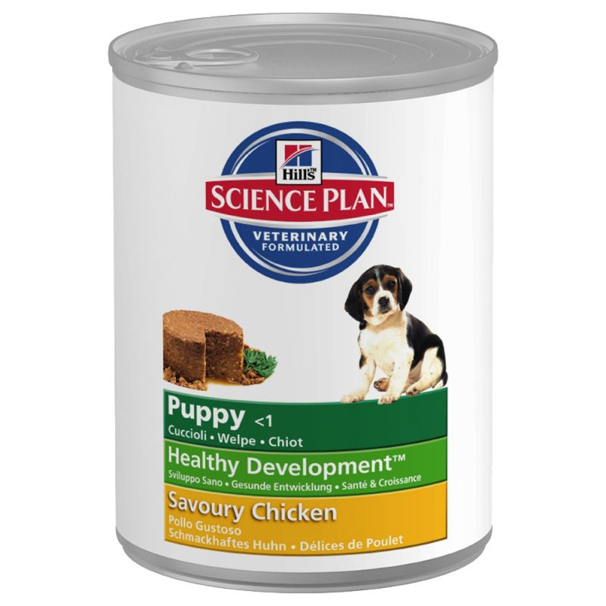 Hills Canine Puppy Savoury Chicken kons. 370gr