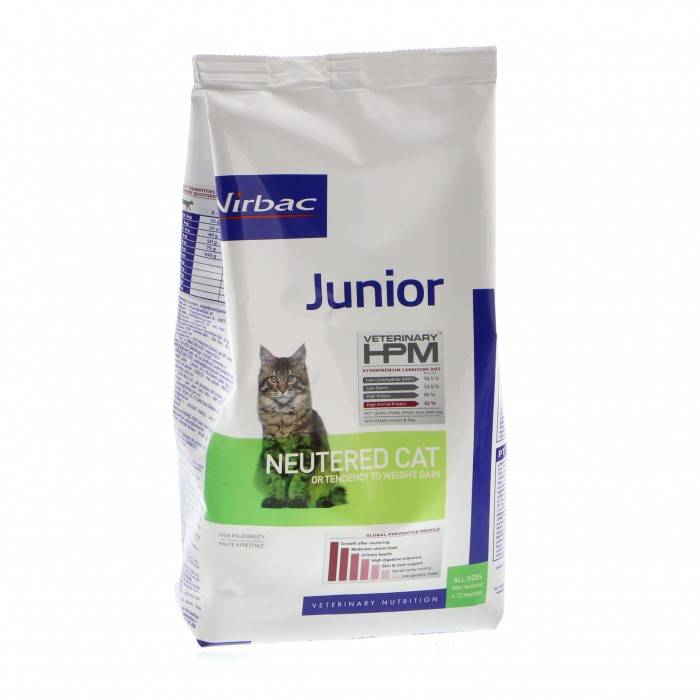 Virbac HPM Junior NEUTERED CAT 3kg