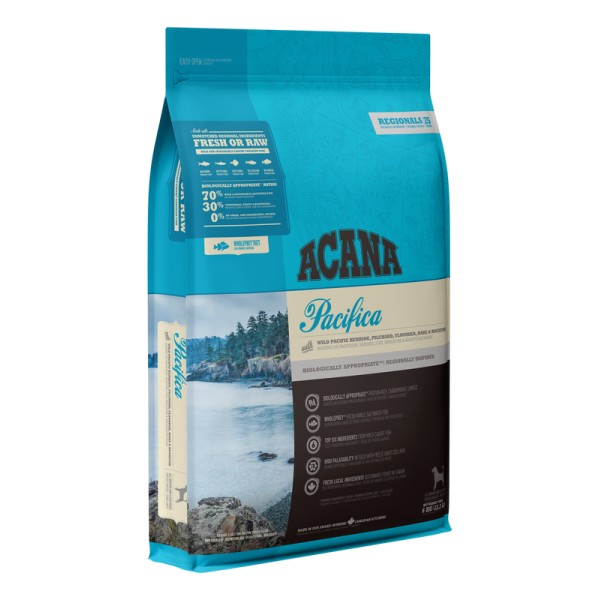 Begrūdis šunų maistas ACANA Pacifica 2kg