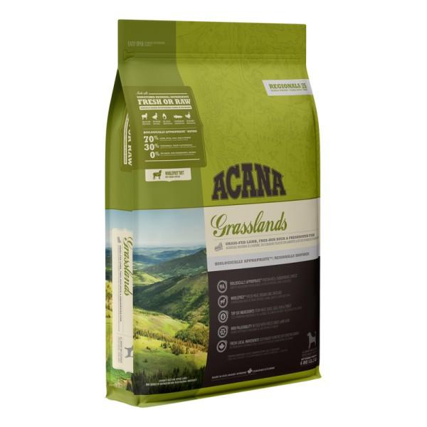 ACANA Grasslands begrūdis maistas šunims 2kg