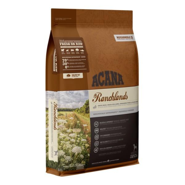 Acana Ranchlands begrūdis maistas šunims 2 kg