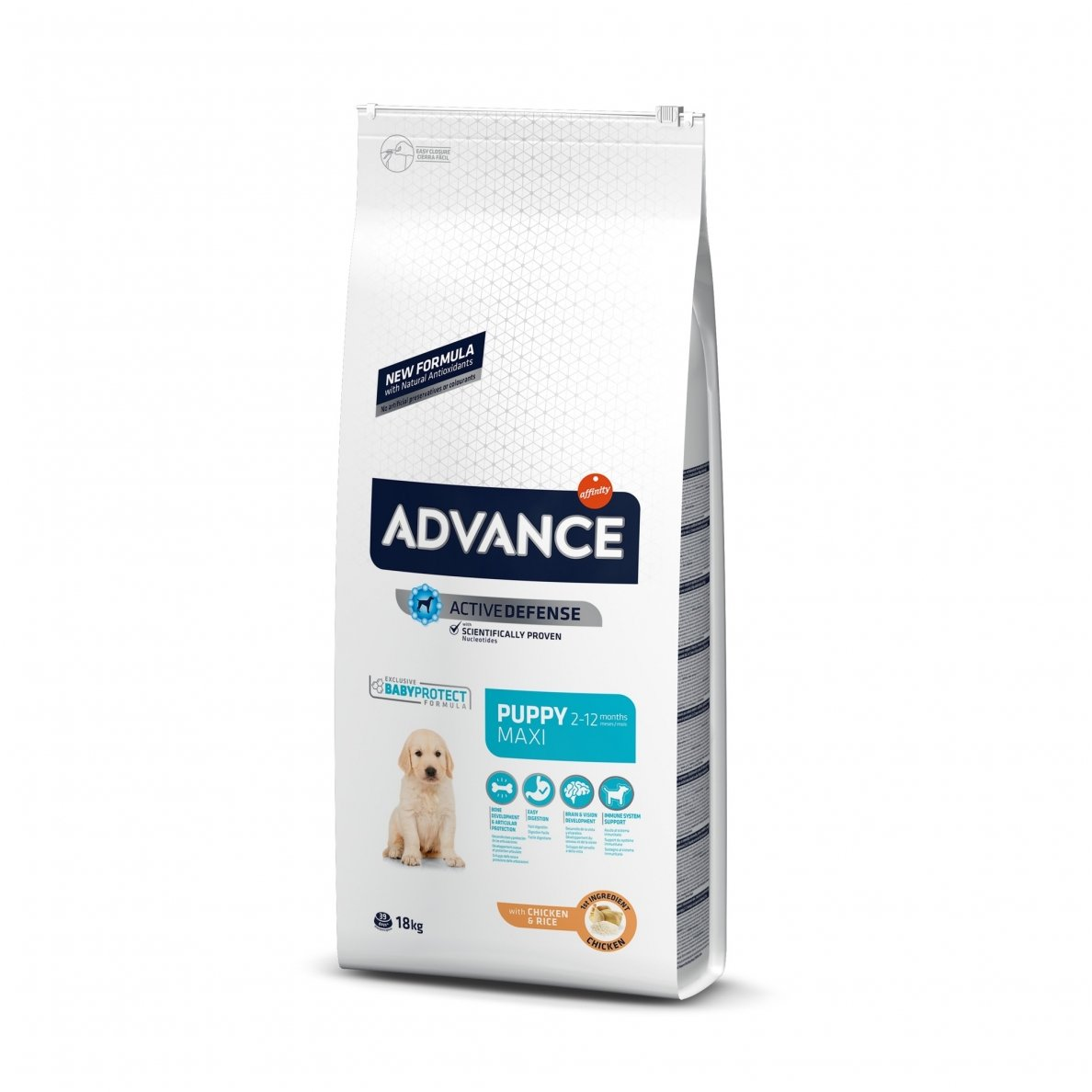 Šunų maistas Advance Puppy protect Maxi 18kg