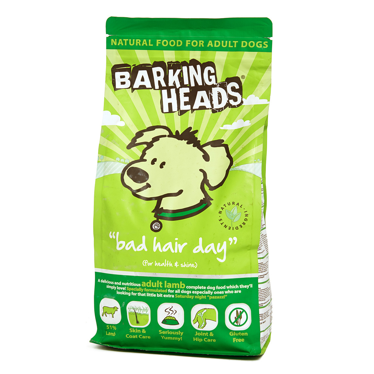 Barking Heads Bad Hair Day Medium 2kg.