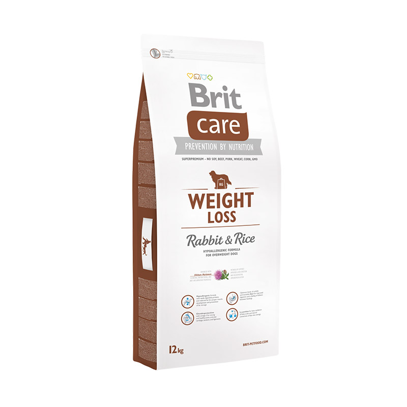 Brit Care weight Loss Rabbit and Rice 3kg.