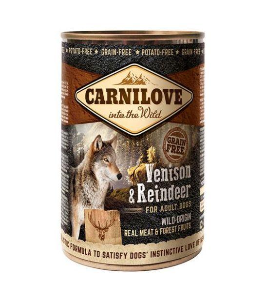 Carni Love Wild Meat Venison & Reindeer 400gr.