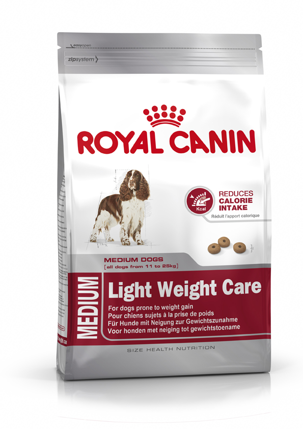Royal Canin Medium Light Weight Care 3kg.