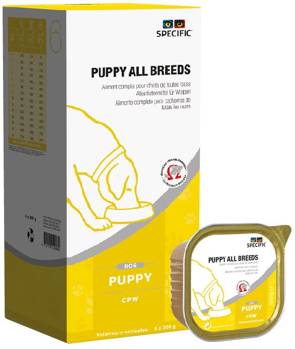 Specific CPW PUPPY ALL BREEDS 6 x 300gr.