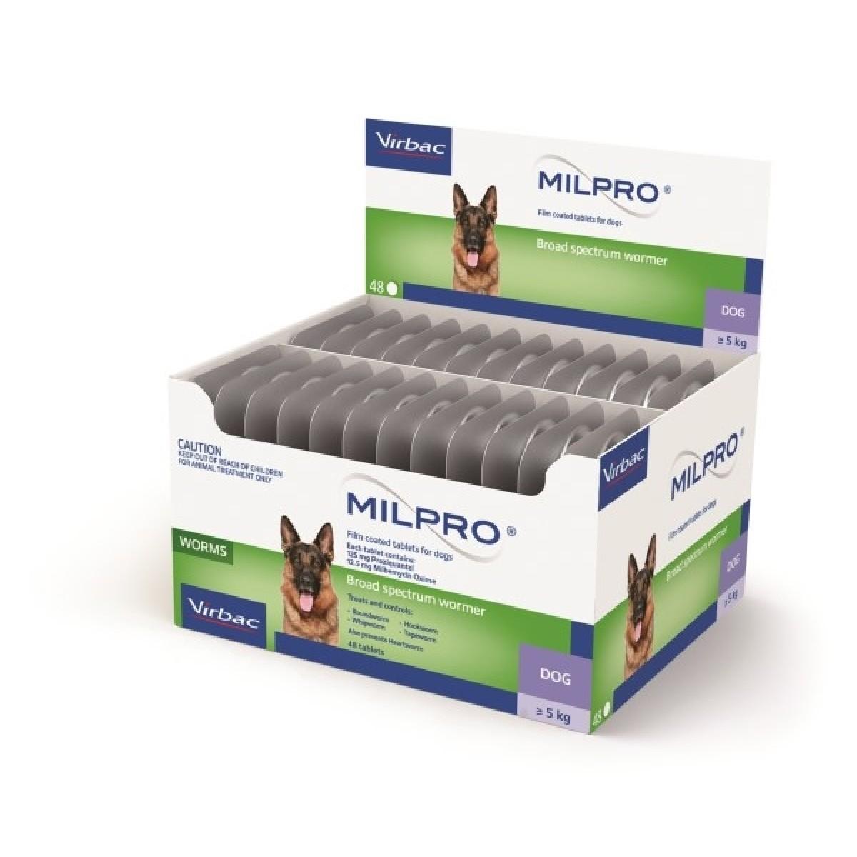 MILPRO 12,5 mg/125 mg, plėvele dengtos tabletės N1