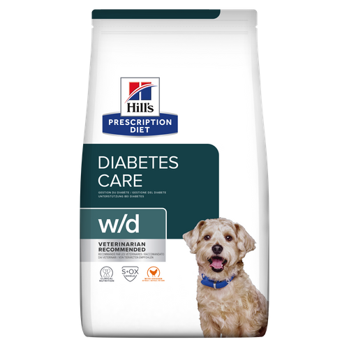 Hills Prescription Diet® Canine w/d 4kg.