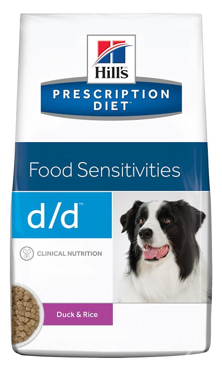 Hills Prescription Diet® Canine d/d Duck & Rice 5kg.