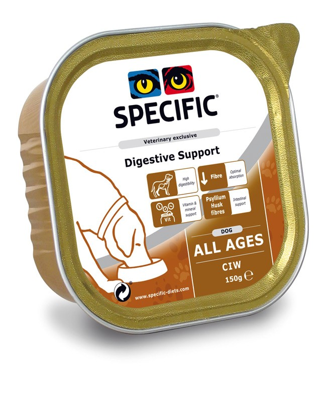 Specific CIW DIGESTIVE SUPPORT 6 x 300gr.