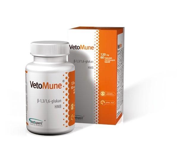 VETOMUNE 105 mg, 60 kaps.
