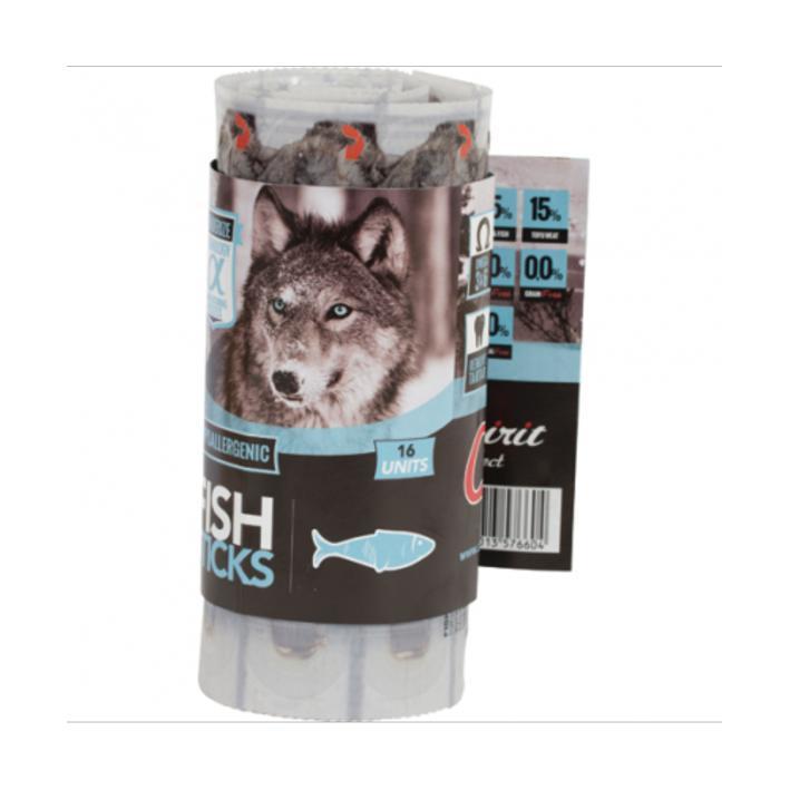 ALPHA SPIRIT žuvies lazdelės šunims, 16vnt
