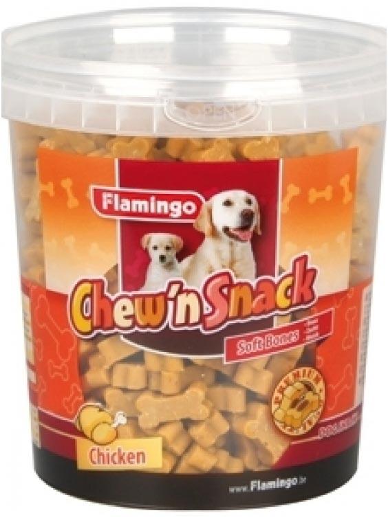 Chew'n Snack kauliukai šunims vištien.skonio 500g