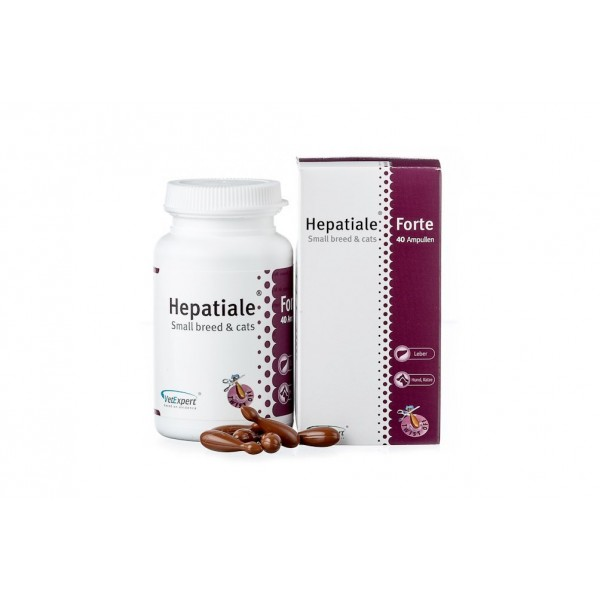 HEPATIALE FORTE Small Bread and Cat 170 mg, 40 kaps.