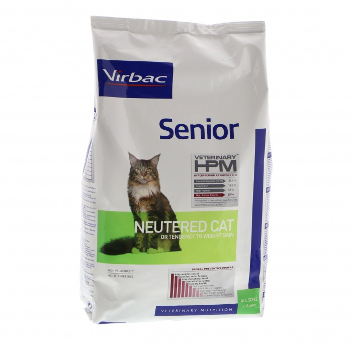 Virbac HPM  Senior NEUTERED CAT 7 kg