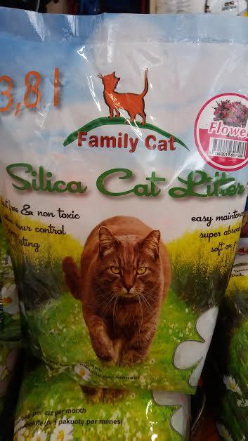 Kraikas silikoninis FAMILY CAT 3,8l obuolių