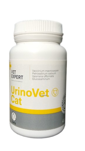 UrinoVet Cat, 770mg, 45 kapsulės