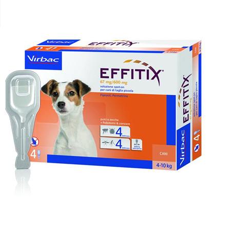 Virbac Effitix šunims 4-10 kg svorio N1