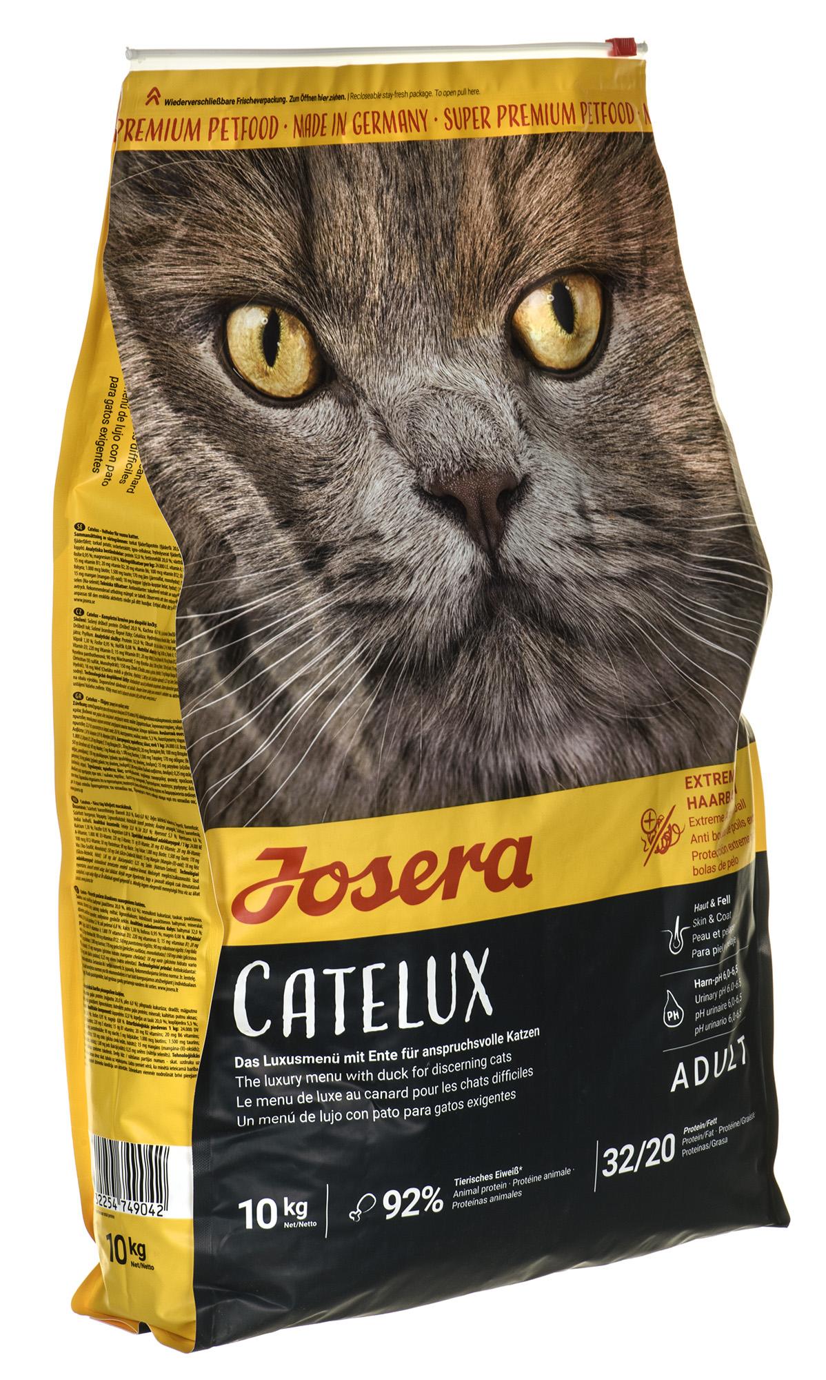 Kačių maistas Josera Catelux 10kg.
