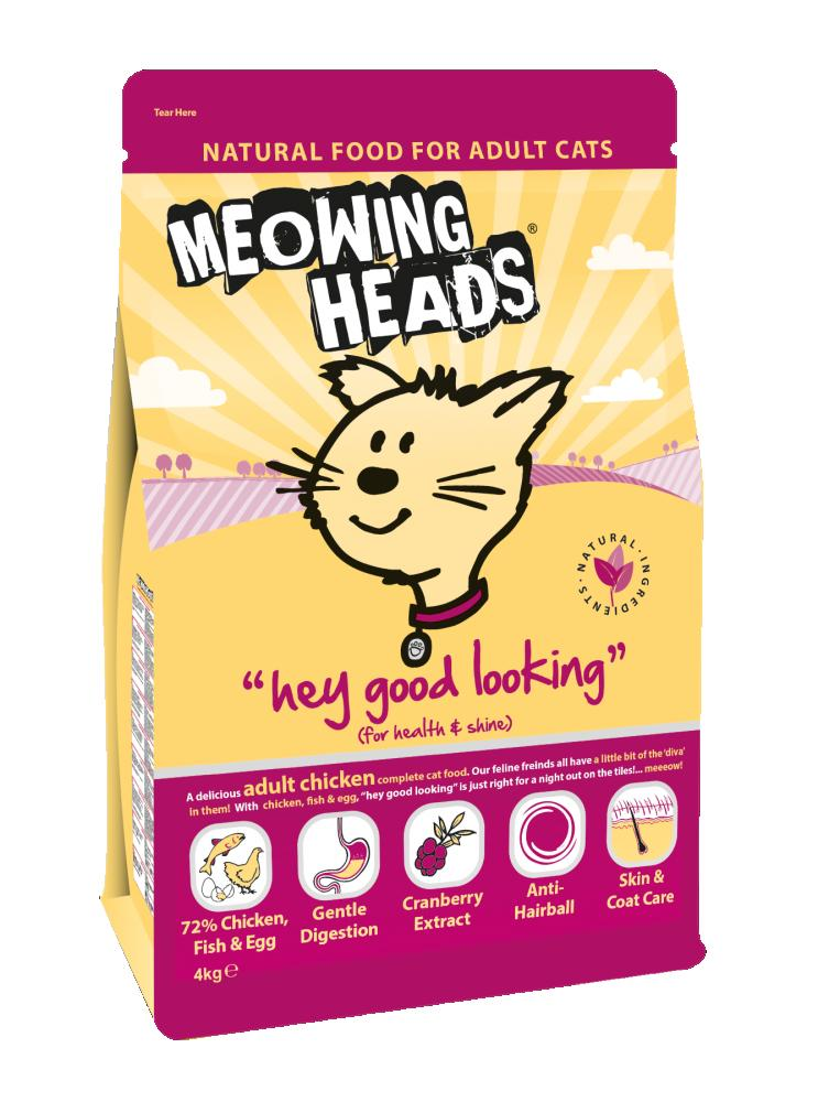 Meowing Heads Hey Good Looking 4kg.