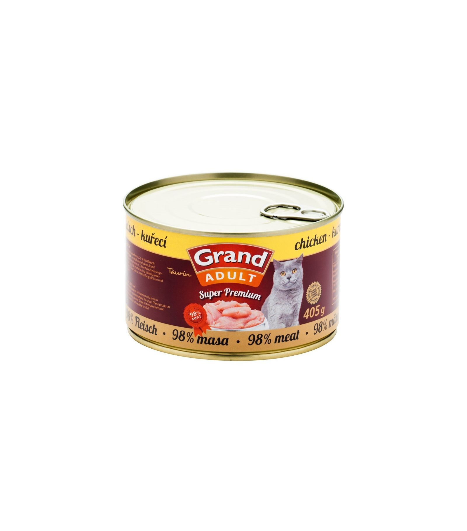 Grand Super Premium Chicken konservai katėms 405gr