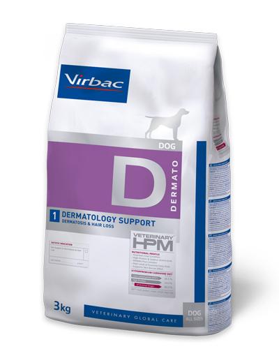 Virbac HPMD D1 DERMATOLOGY SUPPORT 7kg.