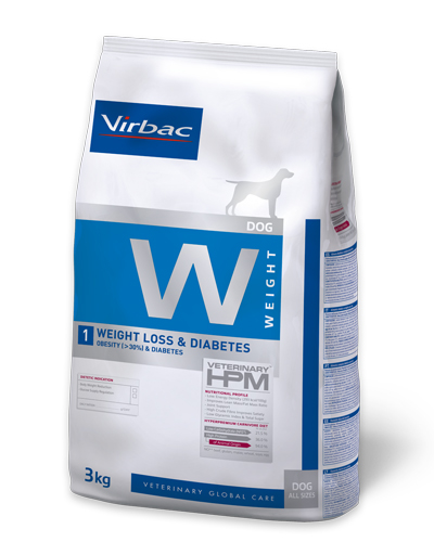 Virbac HPMD W1 Dog weight loss & Diabetes 7kg