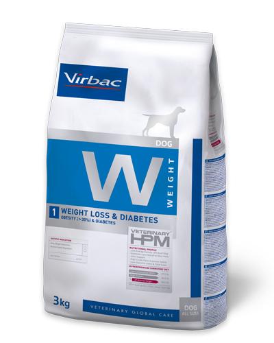 Virbac HPMD W1 Dog weight loss & Diabetes 12kg