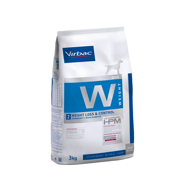 Virbac HPMD W2 Dog weight loss & control 12kg