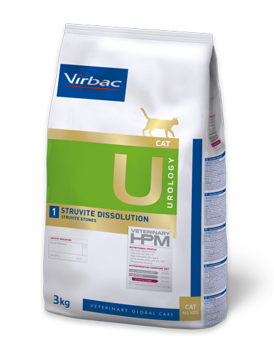 Virbac HPMD U1 Cat STRUVITE DISSOLUTION 1,5kg