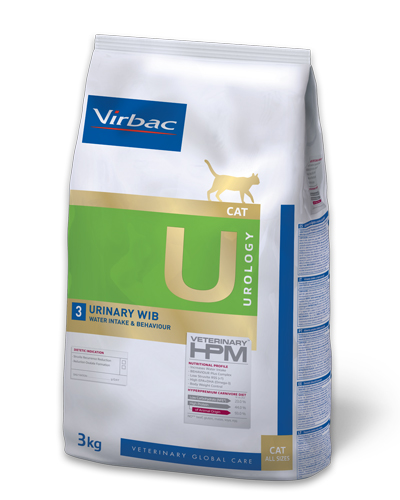 Virbac HPMD U3 Cat URINARY WIB 3kg