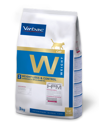 Virbac HPMD W2 Cat WEIGHT LOSS & CONTROL 3kg