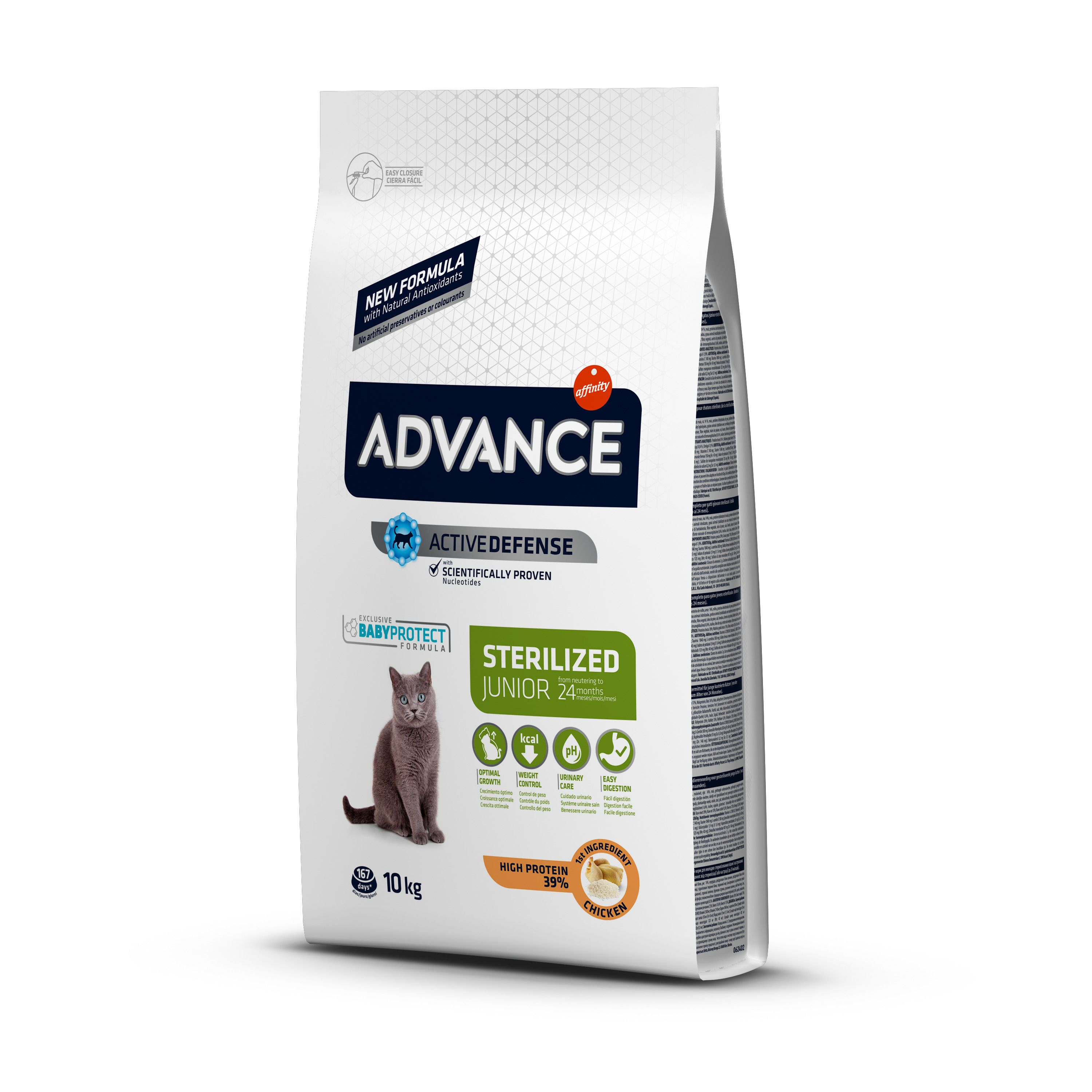 Kačių maistas Advance Sterilized senior 1,5kg