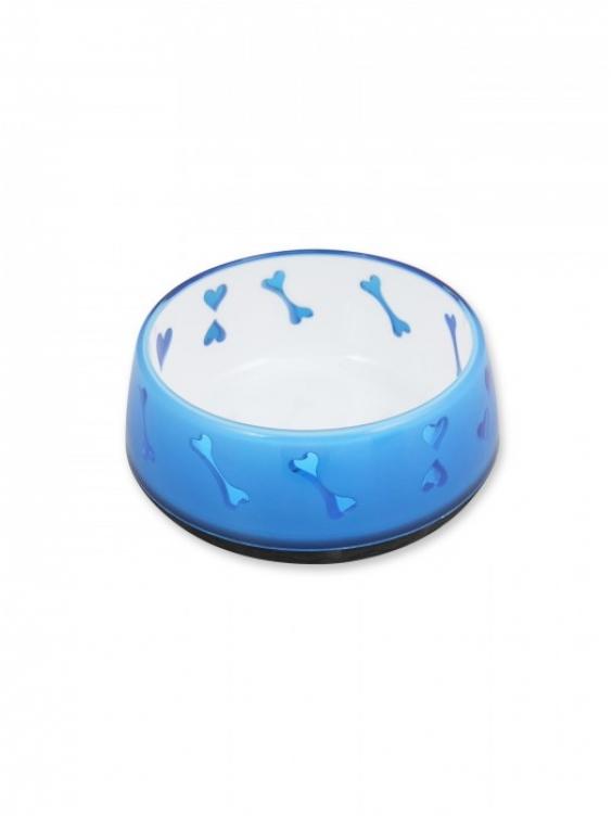 Dubenėlis  Dog Love 300ml mėlynas