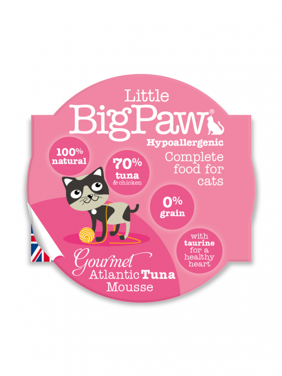 Konservai katėms Little Big Paw Atlantic Tuna 85g