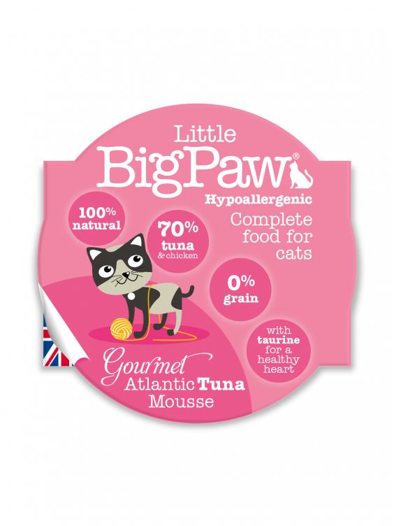 Konservai katėms Little Big Paw Atlantic Tuna 85g