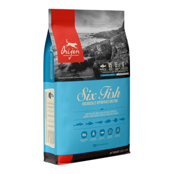 Begrūdis šunų maistas ORIJEN 6 Fish Dog 2kg