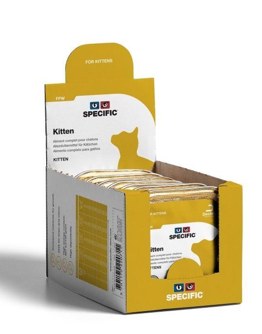 Kačių maistas SPECIFIC FPW Kitten 7 x 100gr.
