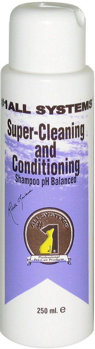 1All Systems Super cleaning & conditioning šampūnas 250ml